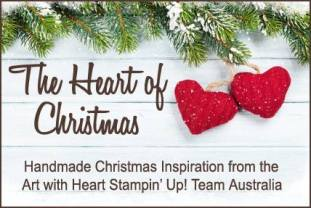 Heart of Christmas Stampin Up Art with Heart Team Christmas Inspiration