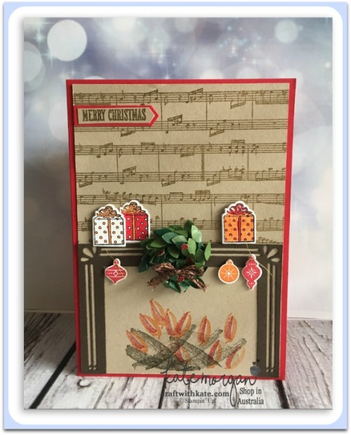Carols of Christmas, Pait Play & at Home with You by Kate Morgan Independent Stampin Up Demonstrator, Australia Heart of Christmas 3D.jpg