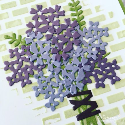 Embossing Paste, Texture made easy, using Stampin Ups Beautiful Bouquet Bundle by Kate Morgan, Independent Demonstrator, Australia