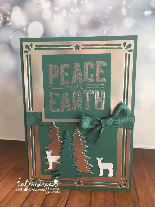 Heart of Christmas Week 9 using Stampin Ups Carols of Christmas by Kate Morgan, Independent Demonstrator Australia AWHT Handmade card 3D DIY.JPG