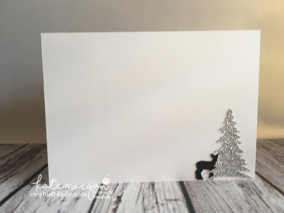 Handmade Christmas Card using Stampin Ups Carols of Christmas & Merry Music DSP by Craft with Kate, Independent Stampin Up Demonstrator, Australia DIY 2017 inside