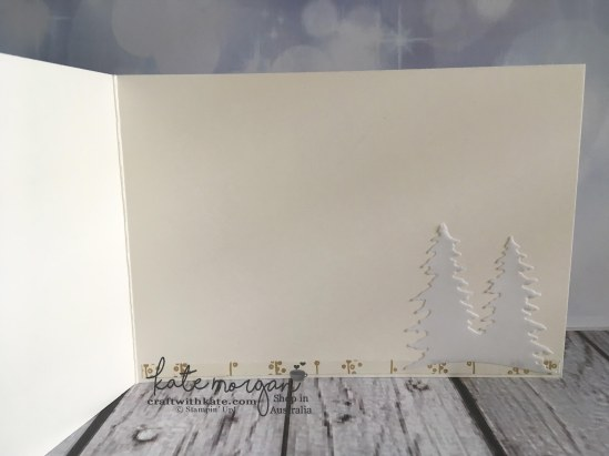 Heart of Christmas card using Stampin Ups Bundle of Love, Bloomin Love, Large Numbers Framelits, Card Front Builder Thinlits by Kate Morgan, Independent Demonstrator Australia. Craft wit