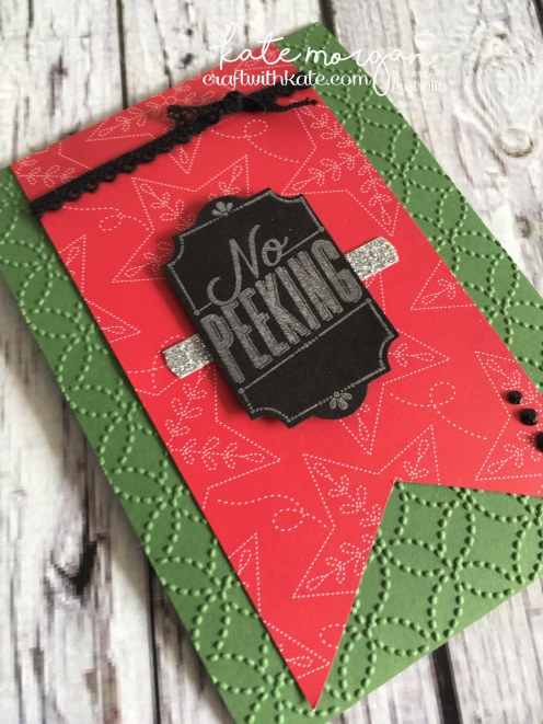Stampin' Up! Merry Little Labels Bundle by Craft with Kate, Independent Demonstrator Australia. 2017 Holiday catalogue. DIY flat