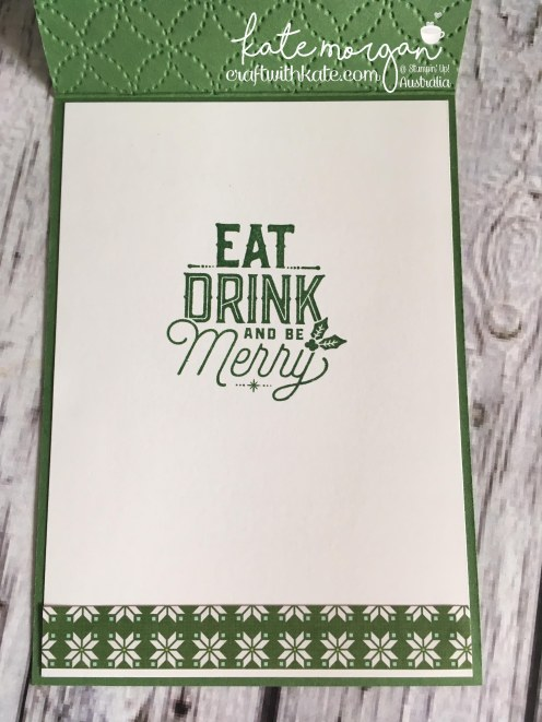 Stampin' Up! Merry Little Labels Bundle by Craft with Kate, Independent Demonstrator Australia. 2017 Holiday catalogue. DIY inside