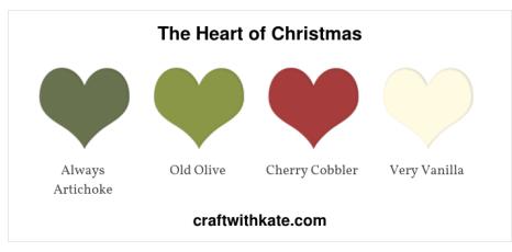 Heart of Christmas - Color Builder - Artichoke, olive, vanilla, cherry cobbler.jpg