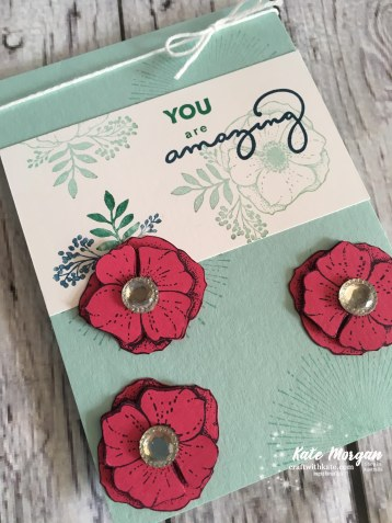 Amazing You by Kate Morgan, Independent Stampin Up Demonstrator, Australia #Saleabration2018 DUIY