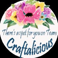 Blog Button - Spot on Team Craftalicious copy
