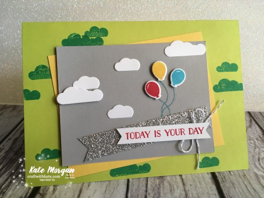 Stampin Up Let the Good Times Roll Masculine card