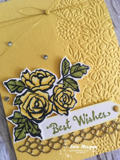 Petal Palette Suite Stampin Up Occasions 2018 by Kate Morgan, Independent Demonstrator, Australia. DIY Feminine card.