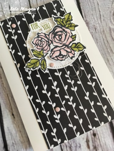 Petal Passion Suite Stampin Up Occasions 2018 by Kate Morgan, Independent Demonstrator Australia. Feminine card..jpg