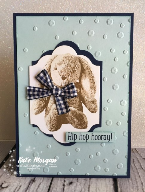 Sweet Little Something, Scattered Sequins TIEF Stampin Up by Kate Morgan, Independent Demonstrator Australia #Occasions2018