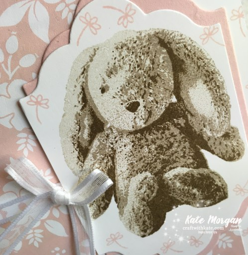 Sweet Little Something, Whole Lot of Lovely DSP Stampin Up by Kate Morgan, Independent Demonstrator, Australia #Occasions2018 Hip Hip Hooray