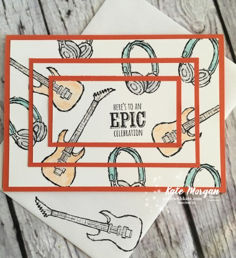 Epic Celebrations Stampin Up by Kate Morgan, Independent Demonstrator, Australia Saleabration 2018