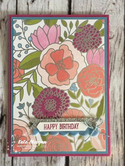 Happy Birthday Sweet Soiree SDSP Stampin Up Occasions 2018 by Kate Morgan, Independent Demonstrator, Australia