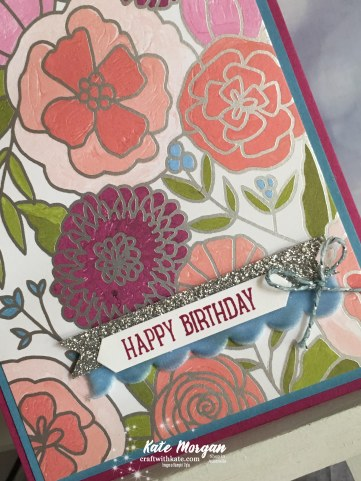 Happy Birthday Sweet Soiree SDSP, Stampin Up, Occasions 2018 by Kate Morgan, Independent Demonstrator, Australia