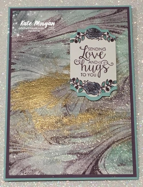 Marbled Lots of Lavender, Ribbon of Courage, Stampin Up Occasions 2018 by Kate Morgan, Independent Demonstrator Australia.jpg