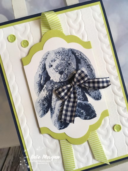 Sweet Little Something Bunny, Stampin Up by Kate Morgan, Independent Demonstrator, Australia