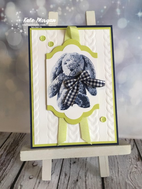 Sweet Little Something Bunny, Stampin Up by Kate Morgan, Independent Demonstrator Australia.