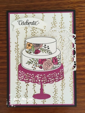 Cake Soiree Bundle Stampin Up Occasions 2018 by Kate Morgan, Independent Demonstator, Australia Andrea