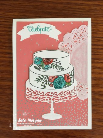 Cake Soiree Bundle Stampin Up Occasions 2018 by Kate Morgan, Independent Demonstator, Australia Dallas
