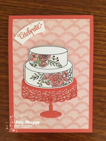 Cake Soiree Bundle Stampin Up Occasions 2018 by Kate Morgan, Independent Demonstator, Australia Marcelle