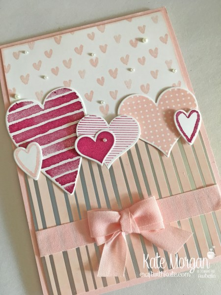Heart Happiness with Springtime Foils, Occasions 2018 Saleabration Stampin Up by Kate Morgan Independent Demonstrator Australia.