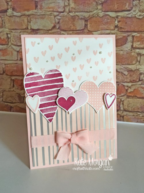Heart Happiness with Springtime Foils, Occasions 2018 Saleabration Stampin Up by Kate Morgan Independent Demonstrator Australia