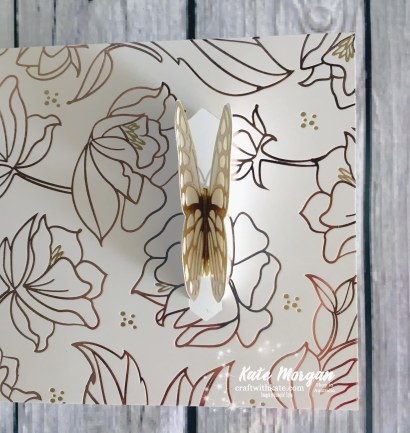 Springtime Foil SDSP Butterfly Stampin Up by Kate Morgan, Independent Demonstrator Australia.