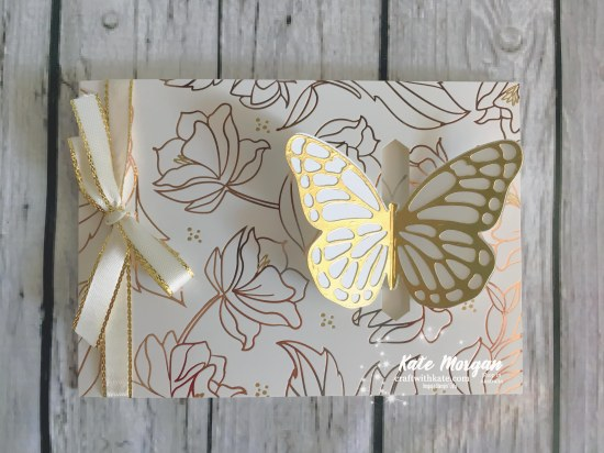 Springtime Foil SDSP Butterfly Stampin Up by Kate Morgan, Independent Demonstrator, Australia