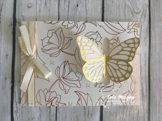 Springtime Foil SDSP Butterfly Stampin Up by Kate Morgan, Independent Demonstrator, Australia