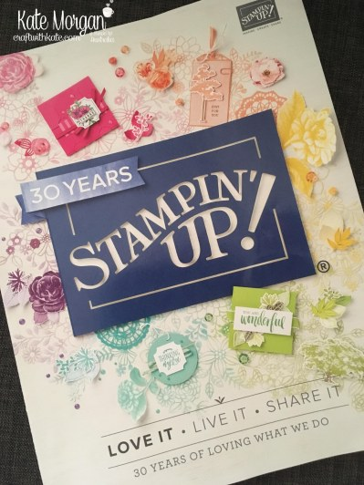 2018-2019 Stampin Up Annual Catalogue