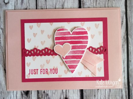 Heart Happiness & Sure Do Love You Bundle Stampin Up Occasions 2018 by Kate Morgan, Craft with Kate, Australia