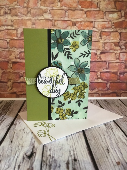 Love What You Do & Share What You Love Specialty DSP Stampin Up by Kate Morgan, Australia