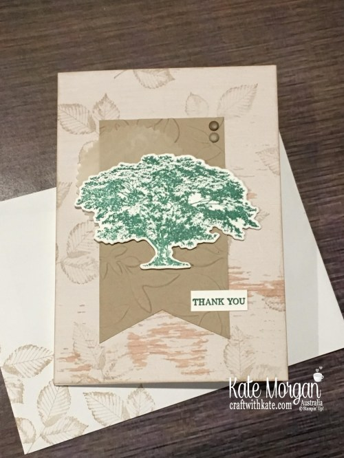 Rooted in Nature Thank You Stampin Up 2018 by Kate Morgan Australia..JPG