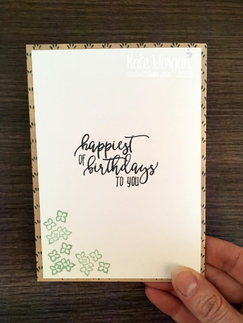 Share What You Love Suite 2018 Stampin Up by Kate Morgan, Australia back