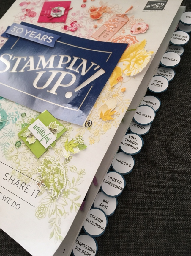 2018-2019 Annual Stampin Up Catalogue tabs.JPG