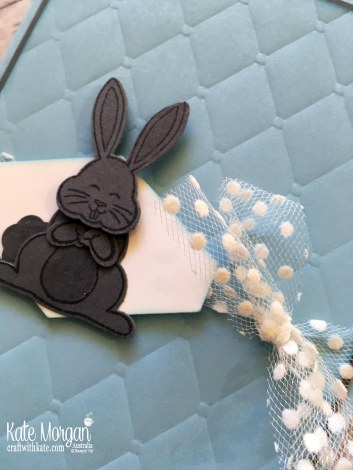 Best Bunny Baby Boy card by Kate Morgan, Stampin Up, Australia 2018