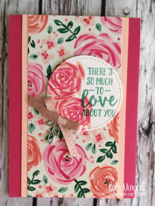 Abstract & Garden Impressions by Kate Morgan, Stampin Up Australia