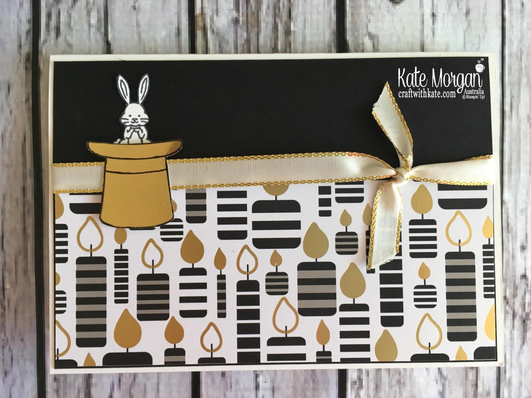 Best Bunny & Broadway Bound SDSP by Kate Morgan, Stampin Up Australia.
