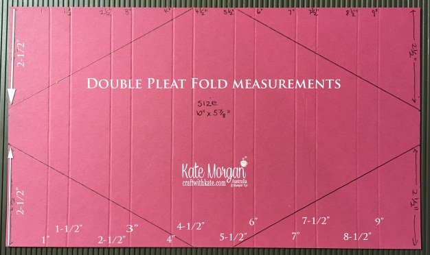 Double Pleat Fold Card measurements by Kate Morgan Stampin Up Australia.jpg