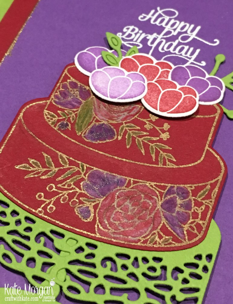 Colour Creation with Cherry Cobbler using Stampin Up Cake Soiree by Kate Morgan, Australia, 2018.jpg