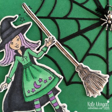 Colouring In Blog Hop with Cauldron Bubble by Kate Morgan, Stampin Up Australia 2018