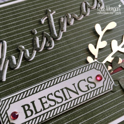 Merry Christmas to All Stampin Up Australia by Kate Morgan 2018 square