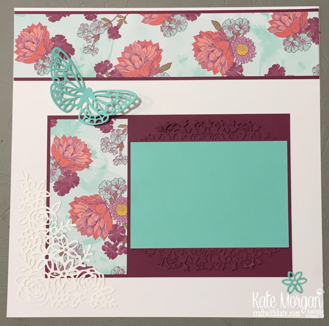 Tea Room SDSP, Springtime Impressions Stampin Up 2018 Butterfly by Kate Morgan Australia.