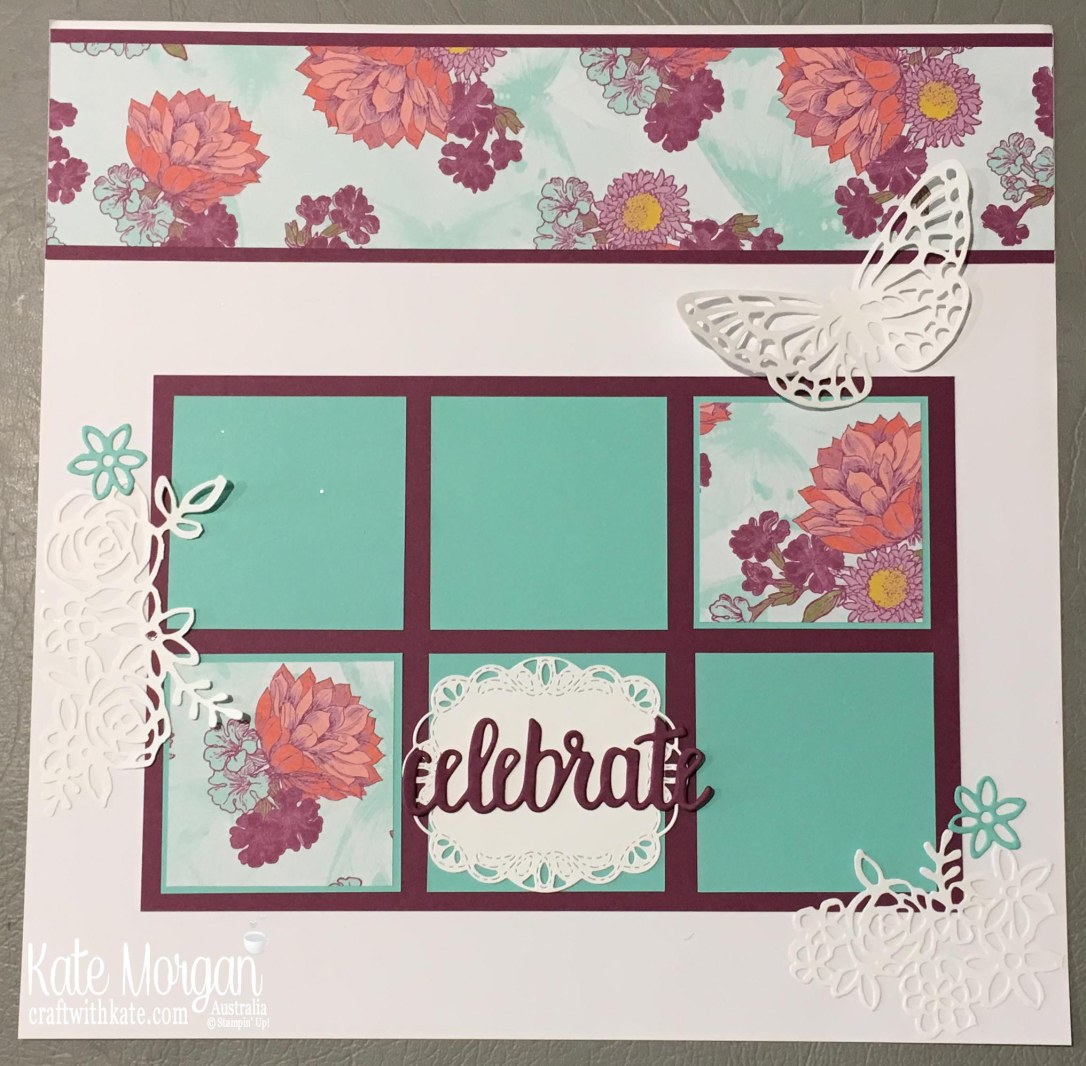 Tea Room SDSP, Springtime Impressions Stampin Up 2018 Butterfly by Kate Morgan, Australia