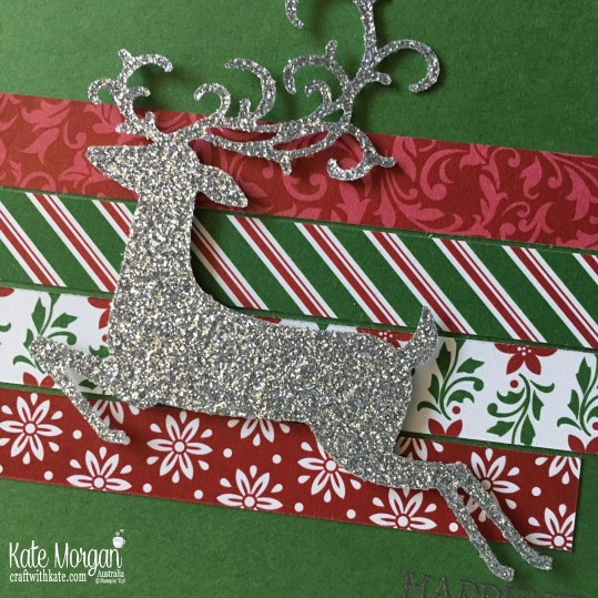 Dashing Along with Dashing Deer by Kate Morgan, Stampin Up Australia Holiday 2018.