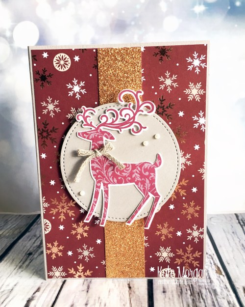 Dashing Deer & Joyous Noel Stampin Up by Kate Morgan Australia 2018