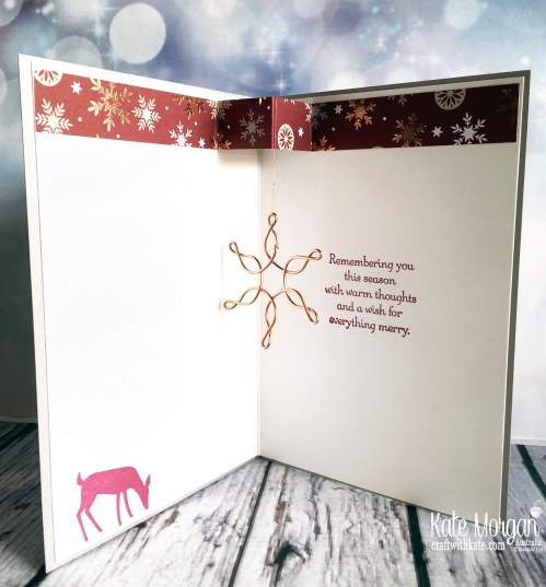 Dashing Deer & Joyous Noel Stampin Up by Kate Morgan, Australia 2018
