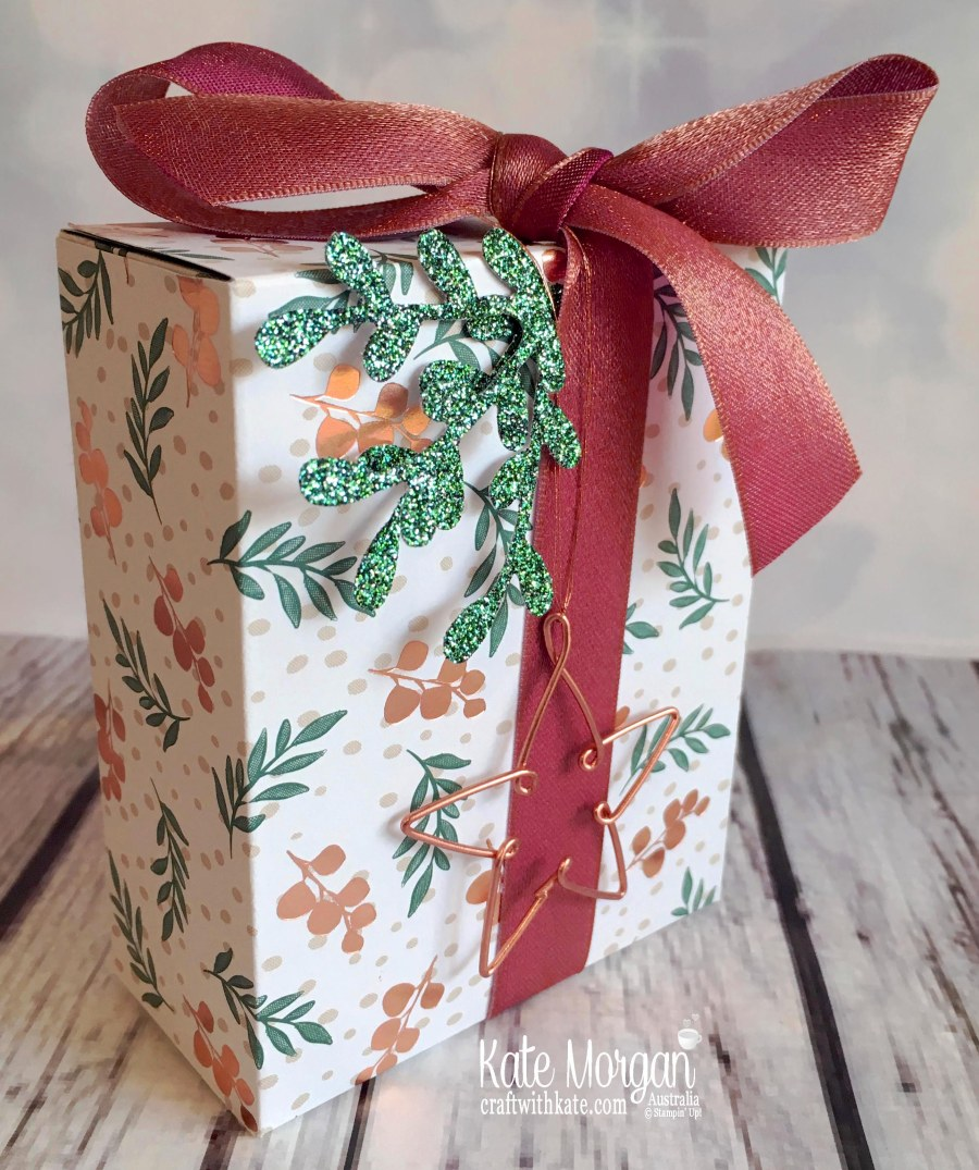 Joyous Noel Gift Box Stampin Up Australia by Kate Morgan 2018.JPG