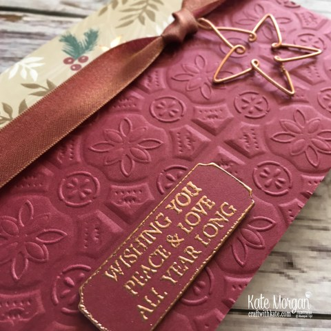 Joyous Noel Merry Christmas to All Stampin Up Australia by Kate Morgan, 2018